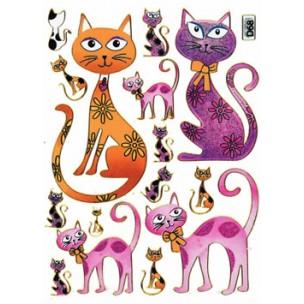 Stickers elegante katte